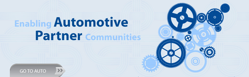 Enabling Automotive Partner Communities