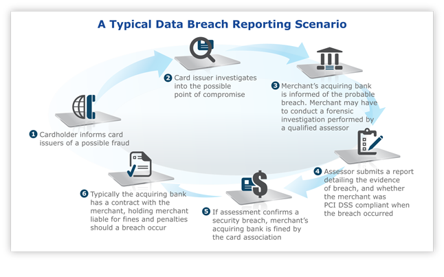 A Typical Data Breach Reporting Scenario